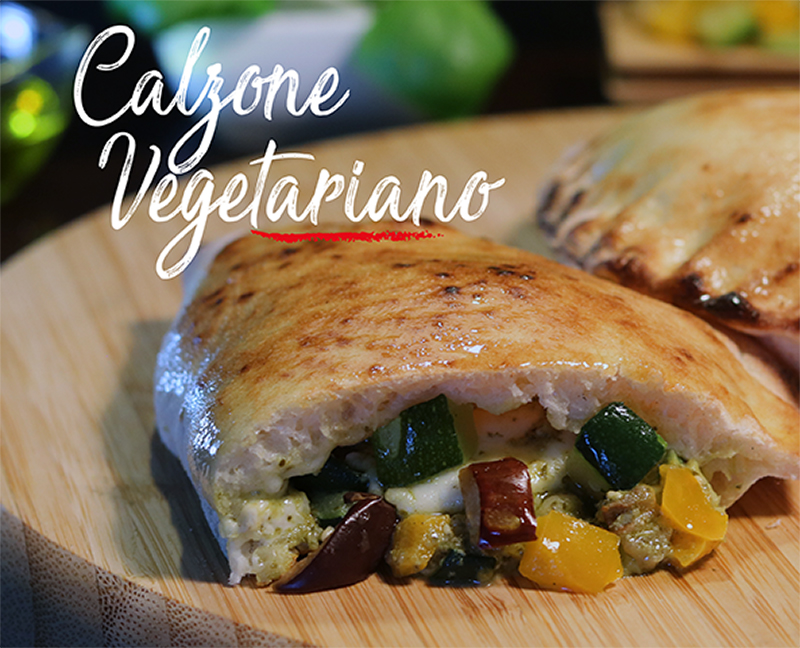 Calzone vegetariano - Napoli Gran Gourmet