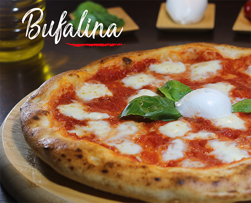 Pizza Bufalina Napoli Gran Gourmet