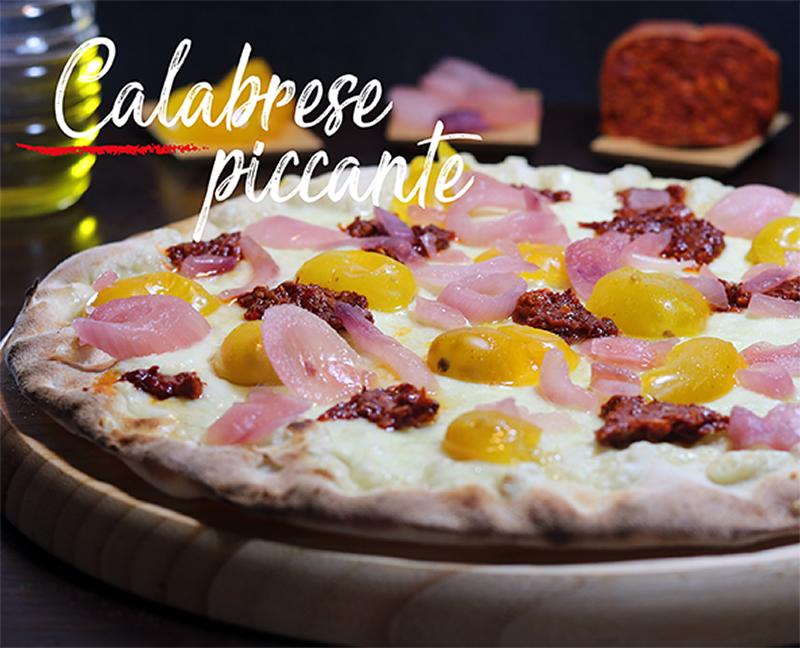 Pizza Calabrese Piccante Napoli Gran Gourmet