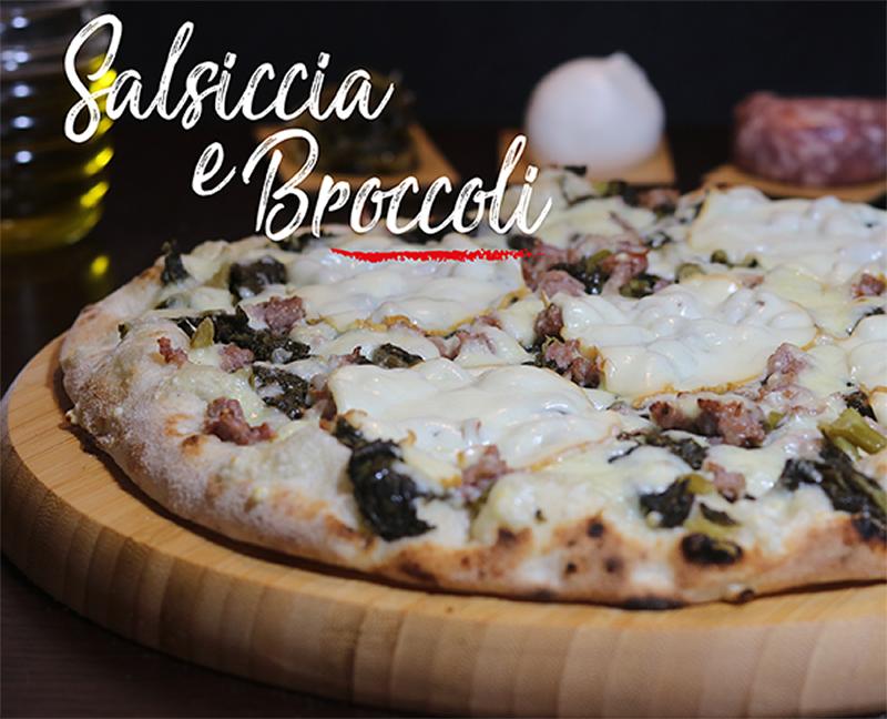 Pizza Salsicccia e broccoli - Napoli Gran Gourmet
