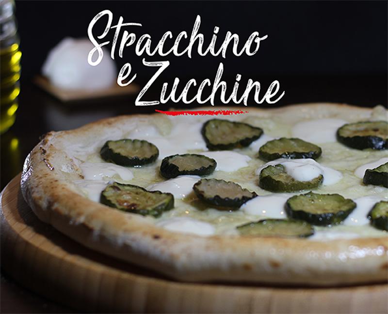 Pizza Stracchino e Zucchine - Napoli Gran Gourmet