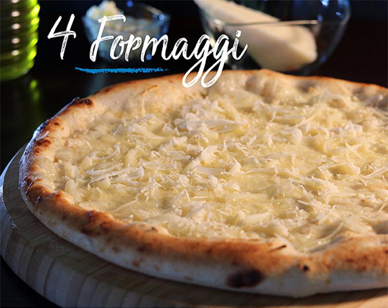 Pizza 4 formaggi - Napoli Gran Gourmet
