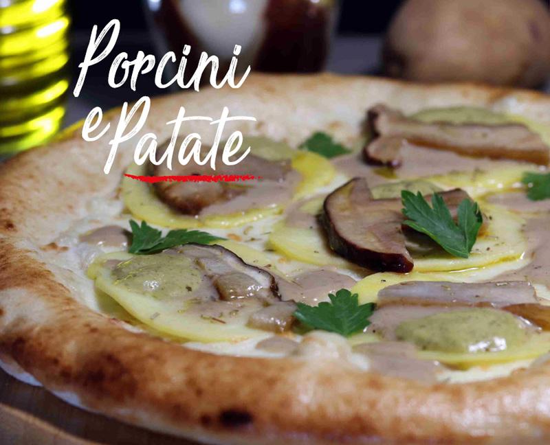 Pizza Porcini e patate - Napoli Gran Gourmet