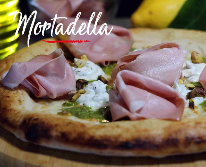 Pizza Mortadella -Napoli Gran Gourmet